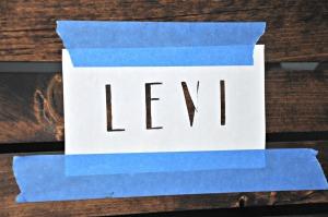 Levi stencil