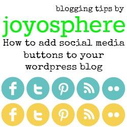 social media button tips