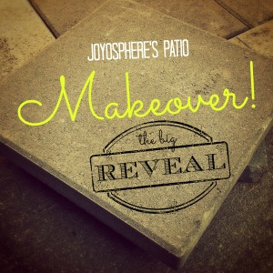 patio makeover reveal icon