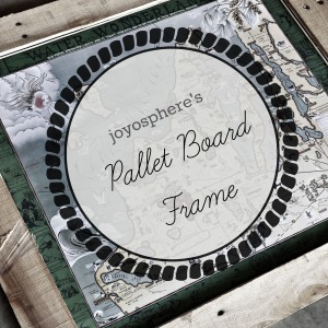 pallet board frame